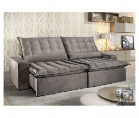 Sofa Retratil Reclinavel  Istambul - 2,10 mts até 2,90 mts - UniArt Estofados