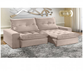 Sofa Retratil Reclinavel  Ferrari - 2,10 mts até 2,90 mts - UniArt Estofados
