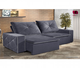 Sofa Retratil Reclinavel Livorno - 2,10 mts até 2,90mts - UniArt Estofados