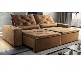 Sofa Retratil Reclinavel Ibiza- 2,10 mts até 2,90 mts